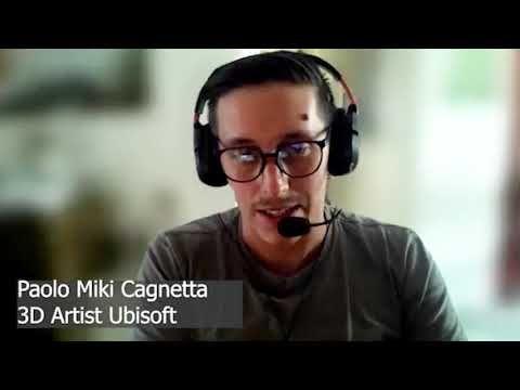 Intervista con Paolo Miki Cagnetta da ex corsista a 3D artist della Ubisoft